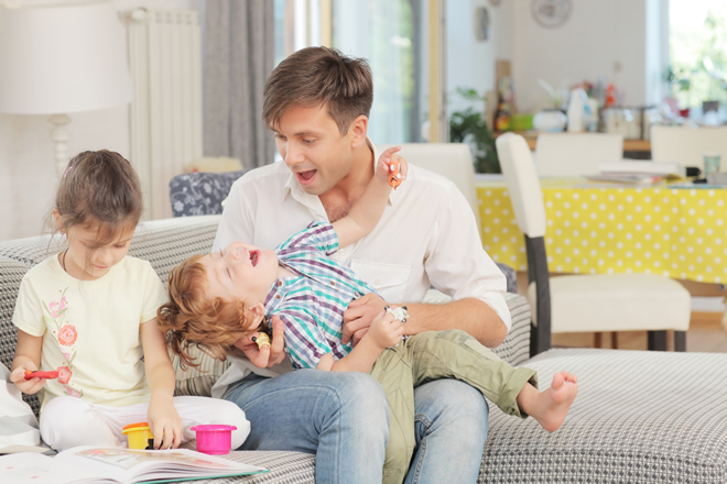 パパに上手に育児を手伝ってもらう賢い誘導法