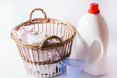 赤ちゃん用の洗濯洗剤を使用する