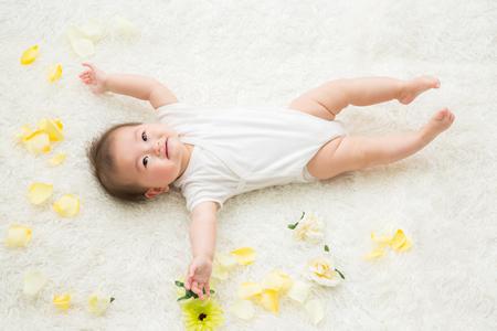 乳児湿疹の症状が出やすい部位